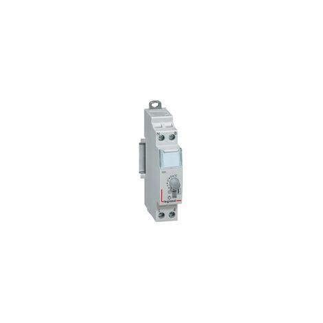 Minuterie modulaire 230V - 50Hz et 60Hz - Sortie 16A 250V- 1 module - Legrand