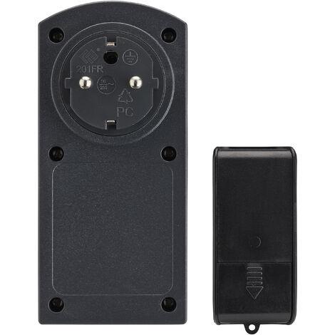 Minuterie programmable photocellule extérieure avec télécommande - Debflex