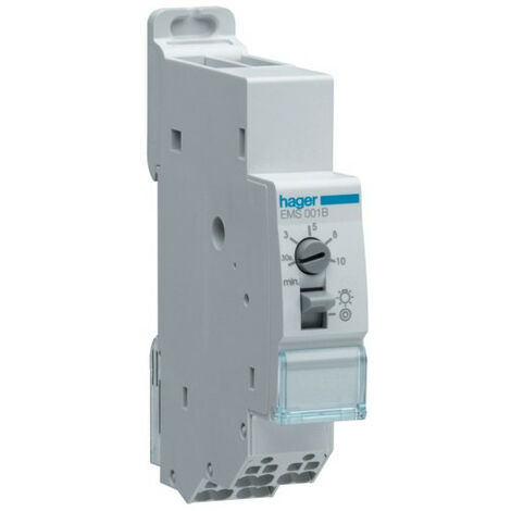 Minuterie simple temporisation SanVis (HAG EMS001B)