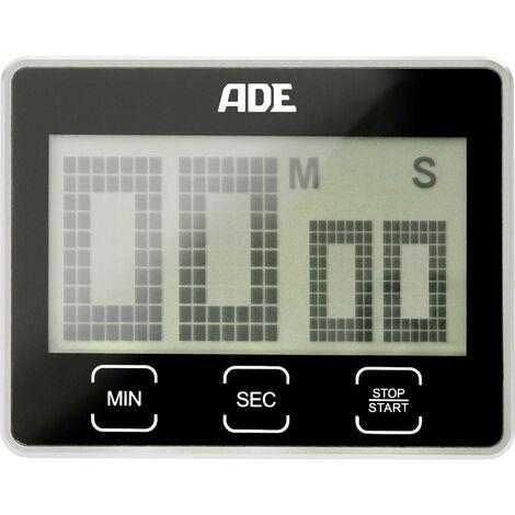 Minuteur ADE TD 1203 TD 1203 noir numérique 1 pc(s)