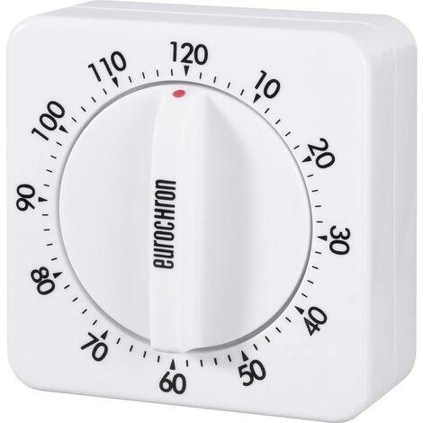 Minuteur Eurochron 13610 blanc