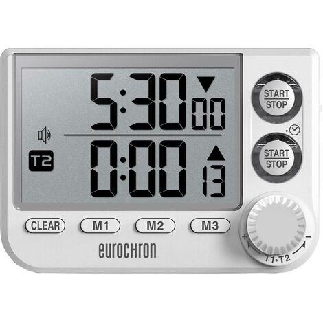 Minuteur Eurochron EDT 8002 EC-3509468 blanc numérique 1 pc(s)