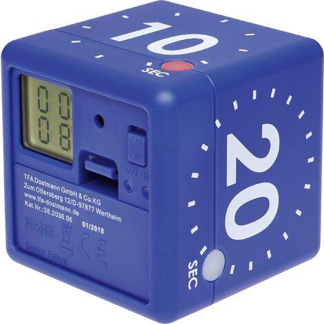 Minuteur numérique en forme de cube CUBE-TIMER X422791