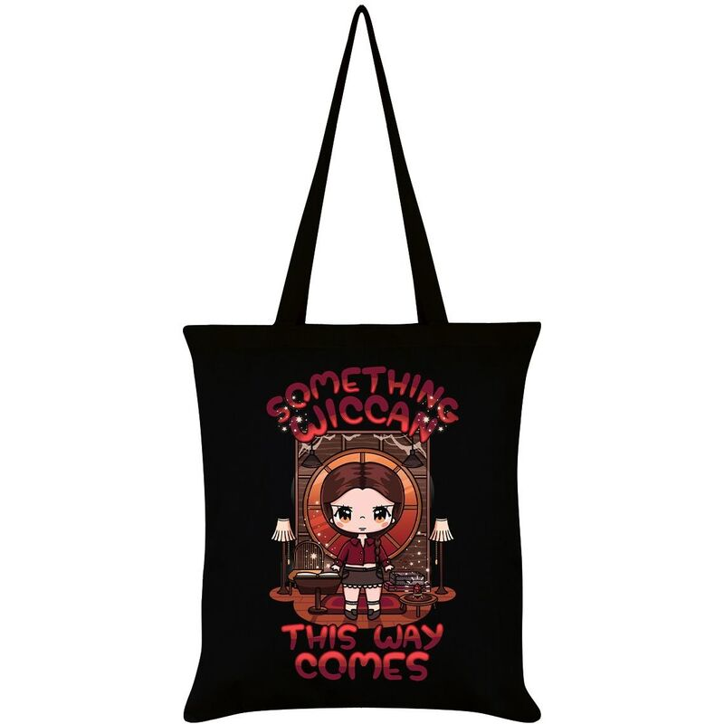 Image of Mio Moon Something Wiccan This Way Comes Tote Bag (One Size) (Black)