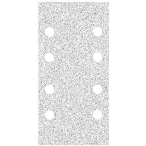 MioTools Klett-Schleifbögen, Korund mit Stearat, 180 x 93 mm, K40–400