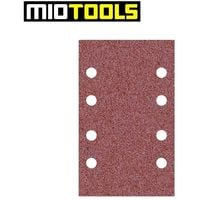 MioTools Klett-Schleifbögen, Normalkorund, 133 x 80 mm, K40–240