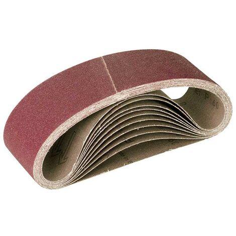 MioTools Schleifbänder, Normalkorund, 303 x 40 mm, K36–120