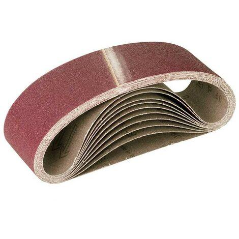 MioTools Schleifbänder, Normalkorund, 533 x 75 mm, K36–120