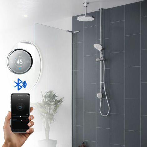 Mira Activate Digital Shower Dual Outlet Head Bathroom High Pressure Combi HP