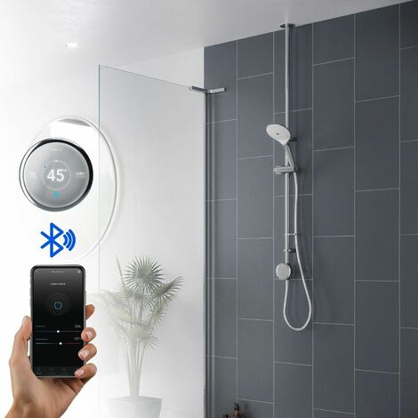 Mira Activate Digital Shower Single Outlet Head Bathroom Gravity Pumped Ceiling