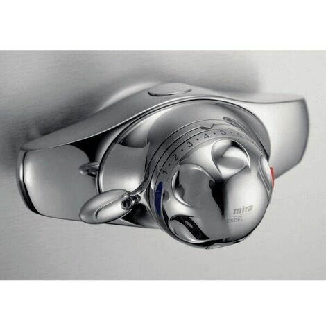 Mira Excel E Exposed Thermostatic Chrome Shower Valve