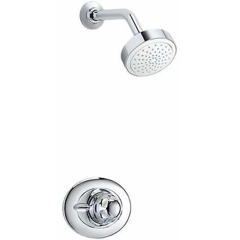 Mira Excel Thermostatic Mixer Shower BIR All Chrome