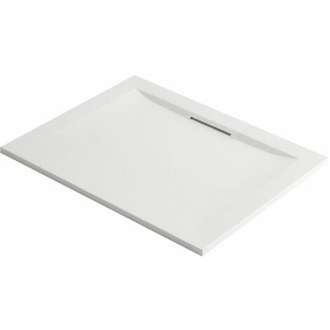 "main image of ""Mira Flight Level Rectangle Shower Tray 1200x800 Low Profile White FREE Waste"""