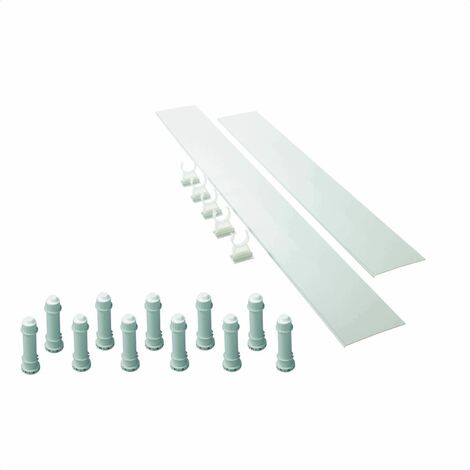 Mira Flight Low 'Easy Plumb' Shower Tray Riser Kit 1700mm White 1.1697.034.WH