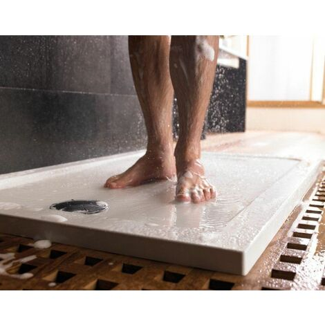 Mira Flight Low Rectangular Flat Top Shower Tray