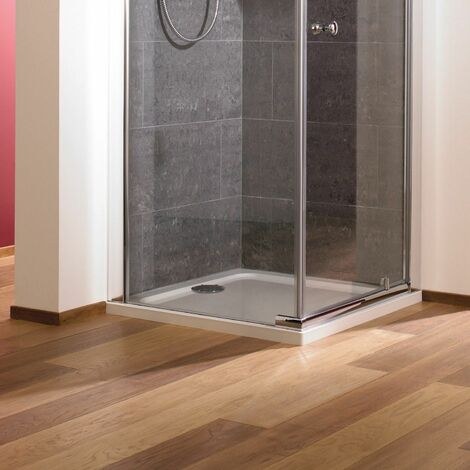Mira Flight Low Square Flat Top Shower Tray