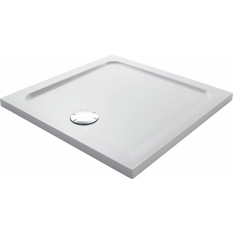 Mira Flight Low Square Flat Top Shower Tray