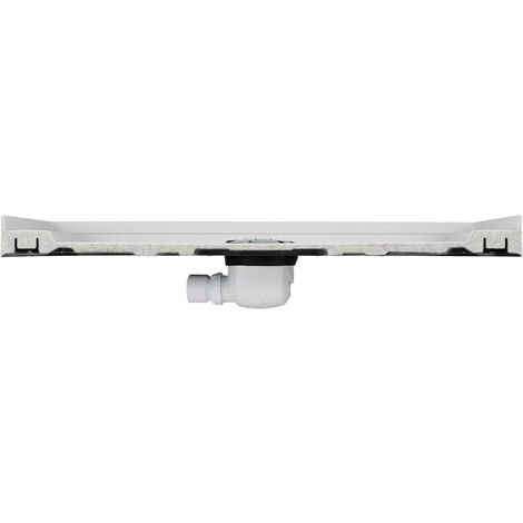 Mira Flight Safe Shower Tray Quadrant Low Profile Stone Waste 900