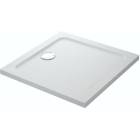 Mira Flight Safe Square Flat Top Shower Tray