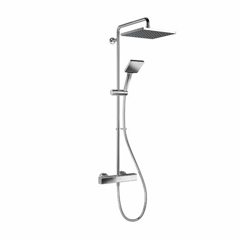 Mira Honesty ERD Mixer Shower Thermostatic Chrome 250mm Head Square 1.1901.002