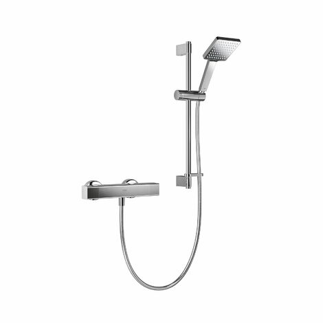 Mira Honesty EV Mixer Shower Thermostatic Chrome 110mm Head Square 1.1901.001