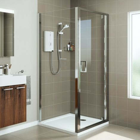Mira Leap pivot shower door 1000mm