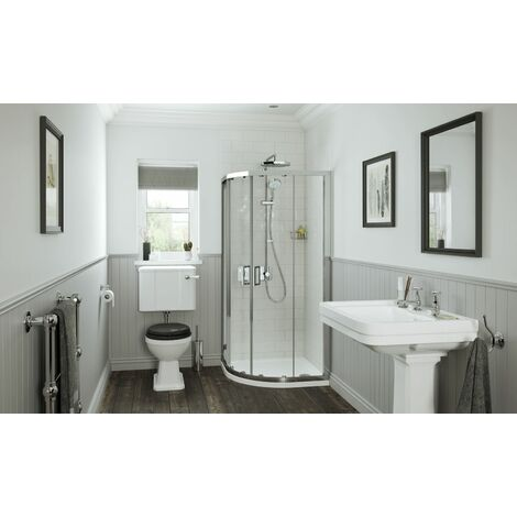 Mira Leap Sliding (Frame Only) Quadrant Shower Enclosure