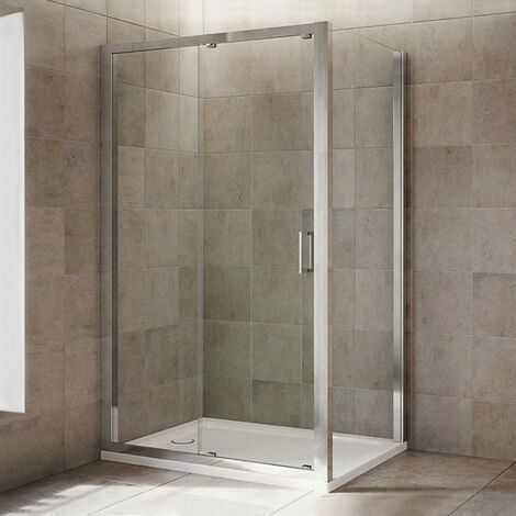 Mira Leap sliding shower door 1400mm