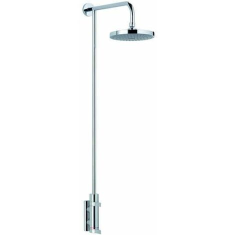 Mira Miniluxe ER Mixer Shower Thermostatic 185mm Fixed Head Chrome 1.1660.007