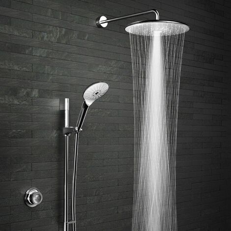 Mira Mode Maxim Digital Shower Dual Head Bathroom Rear Fed High Pressure Combi