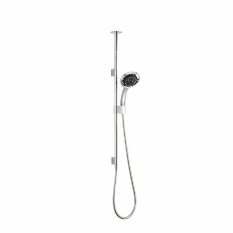 """main image of """"Mira Platinum Shower Fixings Kit Ceiling Fed Contemporary Chrome"""""""