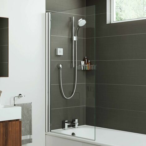 Mira Square Edge Shower Screen - 800mm Width (1.1863.064)