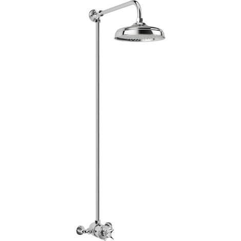 Mira Virtue ER Mixer Shower Thermostatic 210mm Fixed Head Chrome 1.1927.002