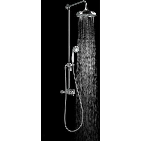 Mira Virtue ERD Mixer Shower Thermostatic Fixed Head & Handset Chrome 1.1927.001