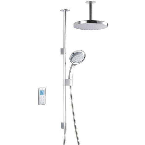 """main image of """"Mira Vision Dual Ceiling Fed Shower With Wireless Digital Control 1.1797.101 - High Pressure"""""""