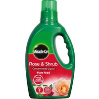 Miracle-Gro Rose & Shrub Concentrated Liquid Plant Food 1L