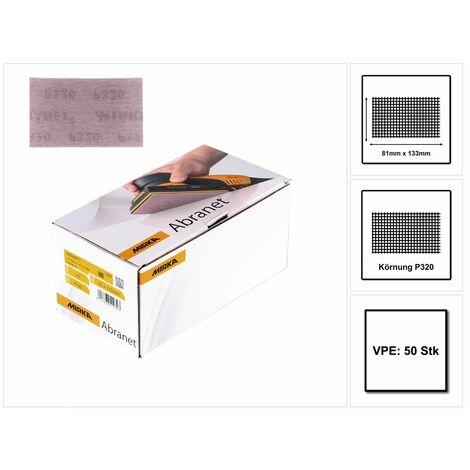 Mirka ABRANET 81x133mm Grip P320, 50/Pack - 5417805032