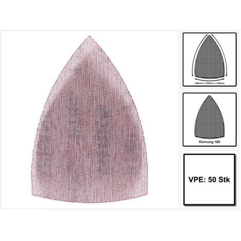 Mirka ABRANET Delta Abrasif, Grip 100x152x152 mm - P180, 50 pcs. ( 5421905018 )
