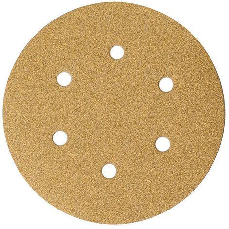 Mirka Abrasif GOLD 150mm, 6T, grain 240, 100/unité - 2336509925