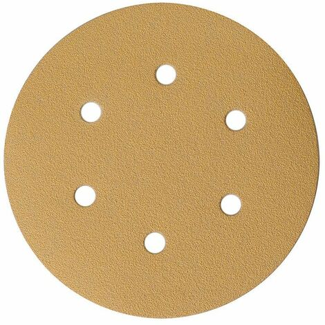 Mirka Abrasif GOLD 150mm, 6T, grain 320, 100/unité - 2336509932