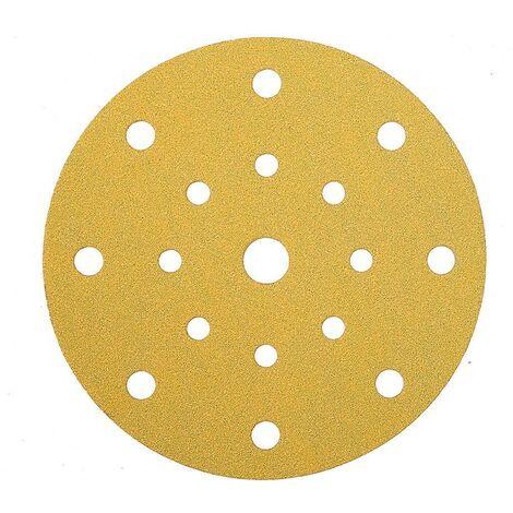 Mirka Abrasif GOLD 150mm Grip 17T, grain 120, 100/unité - 2367909912