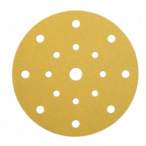 Mirka Abrasif GOLD 150mm Grip 17T, grain 60, 50/unité - 2367905060