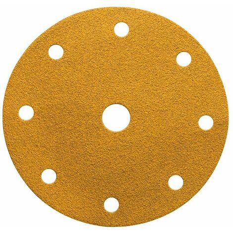 Mirka Abrasif GOLD 150mm Grip 9T, grain 180, 100/unité - 2362609918