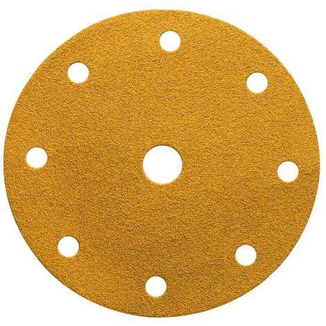 Mirka Abrasif GOLD 150mm, Grip 9T, grain 80, 100/unité - 2362609980