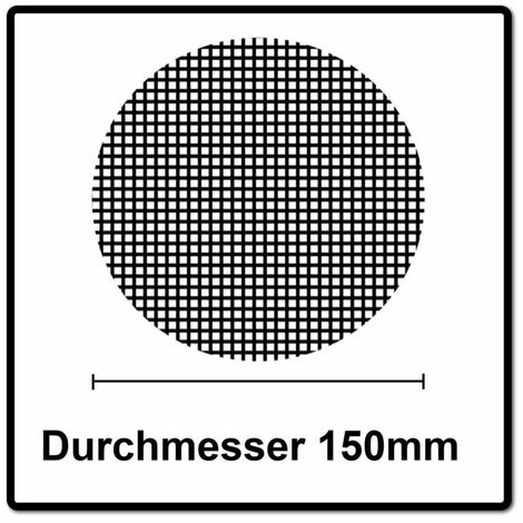 Mirka BASECUT Disques abrasifs auto-agrippants 150 mm, P60, 15 trous, 50 pcs. ( 2261105060 )