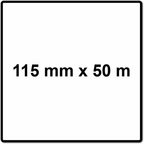 Mirka BASECUT Rouleau de papier abrasif 115 mm x 50 m, P150, Papier abrasif universel ( 2251100115N )