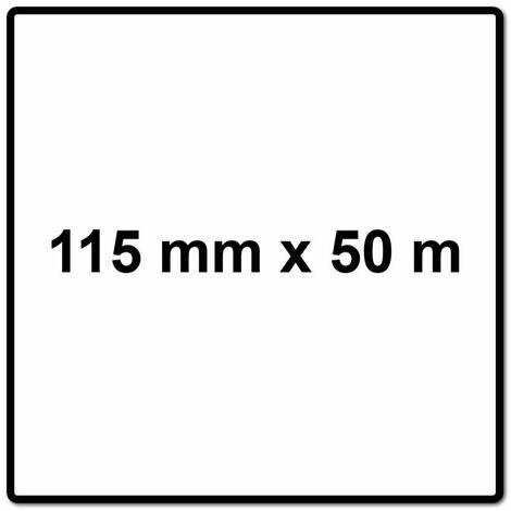 Mirka BASECUT Rouleau de papier abrasif 115 mm x 50 m, P240, Papier abrasif universel ( 2251100125N )