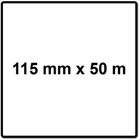 Mirka BASECUT Rouleau de papier abrasif 115 mm x 50 m, P40, Papier abrasif universel ( 2251100140N )