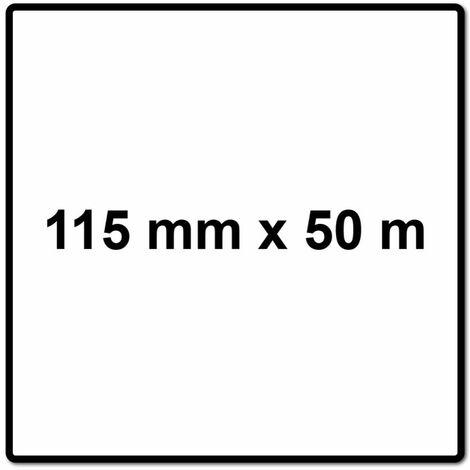 Mirka BASECUT Rouleau de papier abrasif 115 mm x 50 m, P60, Papier abrasif universel ( 2251100160N )