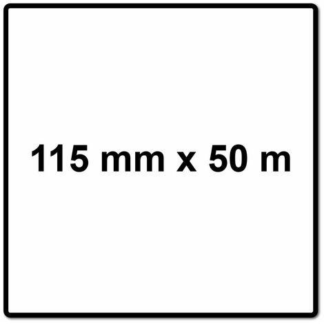 Mirka BASECUT Rouleaux de papier abrasif 115 mm x 50 m, P80, Papier abrasif universel ( 2251100180N )